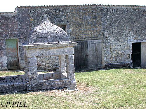 Rare exemple de puits à escalier de la Mauvinière.